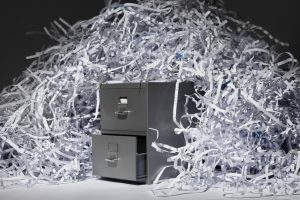 commercial document destruction service