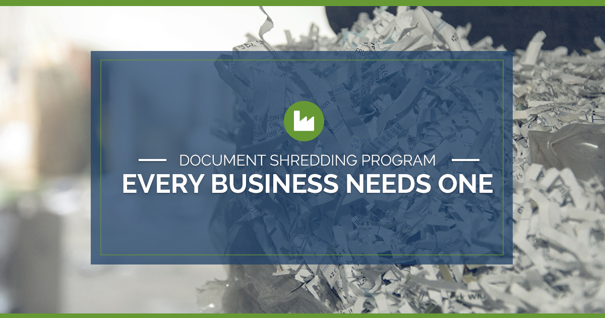 Why Every Business Needs a Document Shredding Program