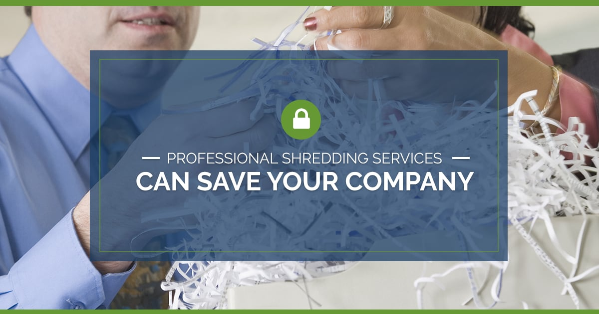 Professional Shredding Services Can Save Your Company