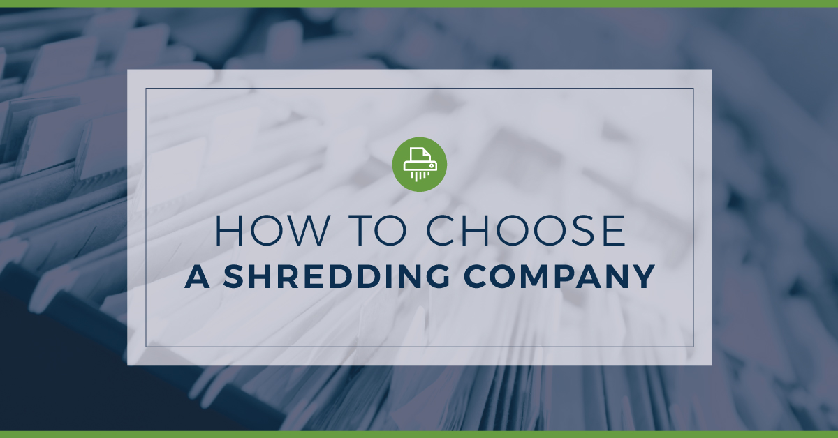 How to Choose the Best Document Shredding Services in CT